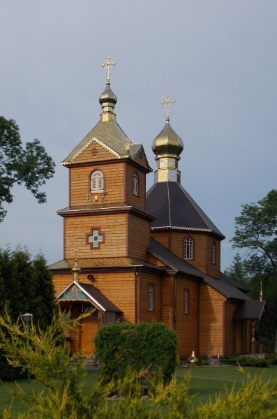 Orthodox Saints Cosmas and Damian church in Anusin (by Pudelek) 2