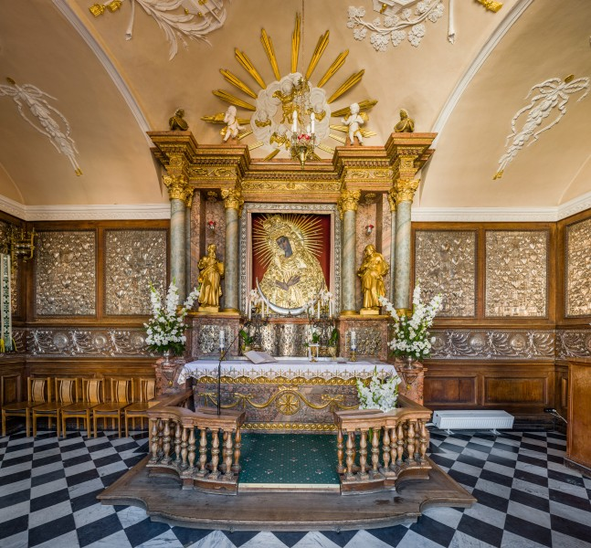 Our Lady of the Gate of Dawn Interior, Vilnius, Lithuania - Diliff