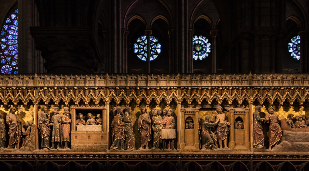Paris Notre-Dame Choir Screen South 01