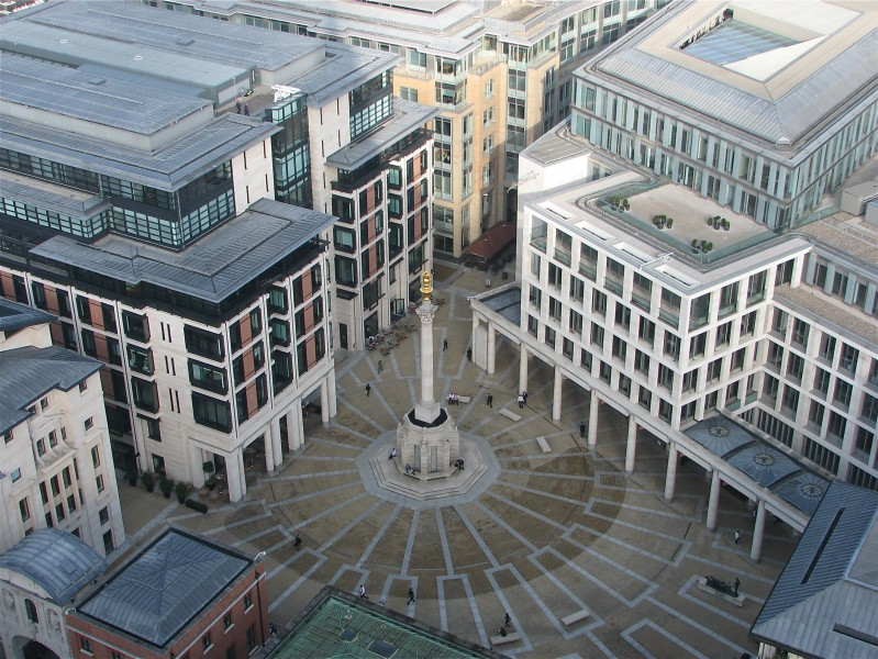 Paternoster Square from St. Paul's Cathedral
