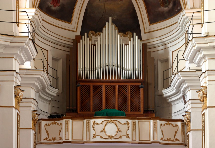 Pipe organ - San Francesco de Assisi - Agrigento - Italy 2015
