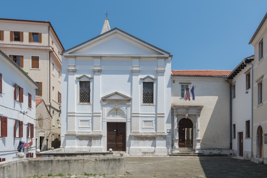 Piran church St Francis monastery