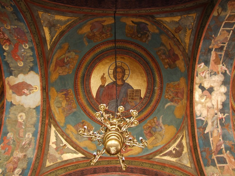 Romanian Patriarchal Cathedral - mural