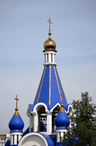 Roof of Church of Theotokos Nativity in Korolyov 2014