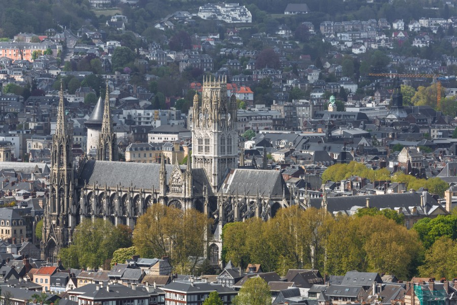 Rouen France Church-Saint-Ouen-01