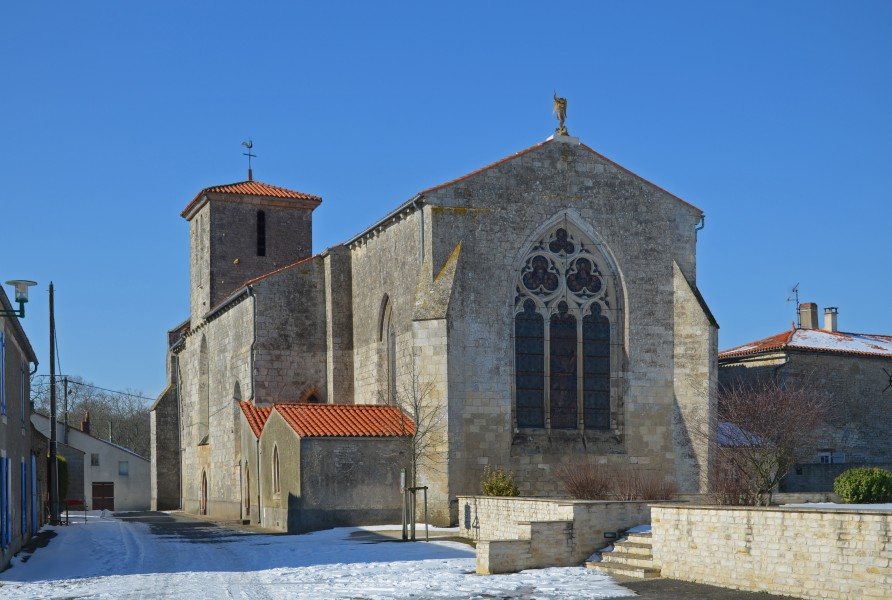 Saint-Michel-le-Cloucq - Eglise (1)