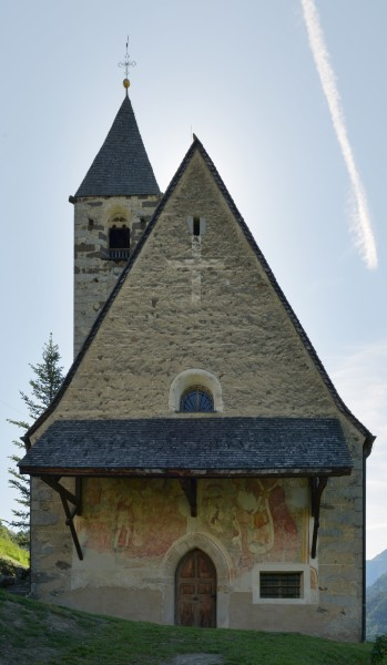 Saint Catherine church in Lajener Ried