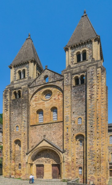 Saint Faith Abbey Church in Conques 05