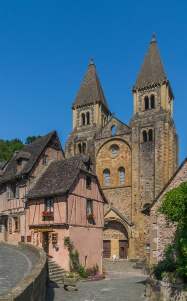 Saint Faith Abbey Church in Conques 07