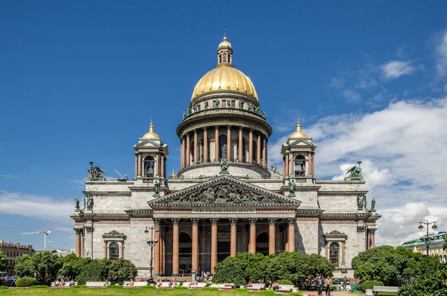 Saint Isaac's Cathedral in SPB