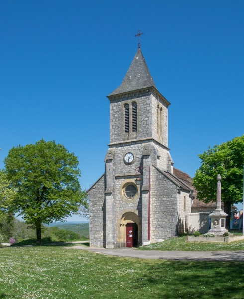 Saint Jacob Church in Calès
