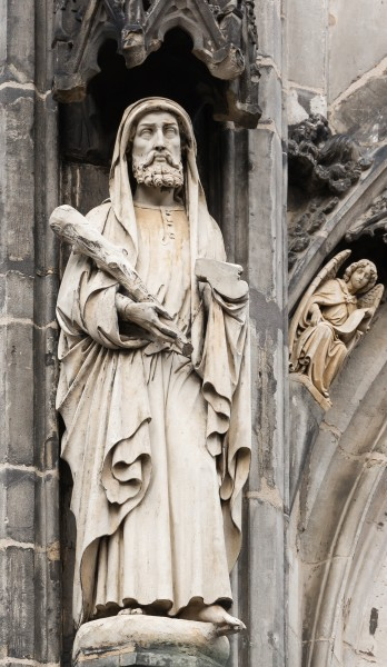 Saint Jude statue, Cathedral, Aachen, Germany