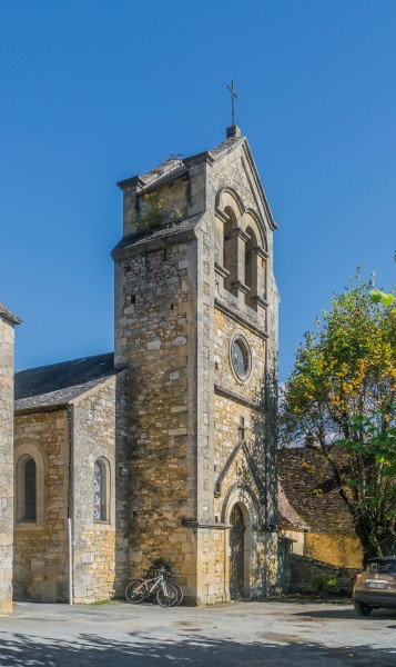 Saint Michael and All Angels Church in Castelnaud-la-Chapelle 01