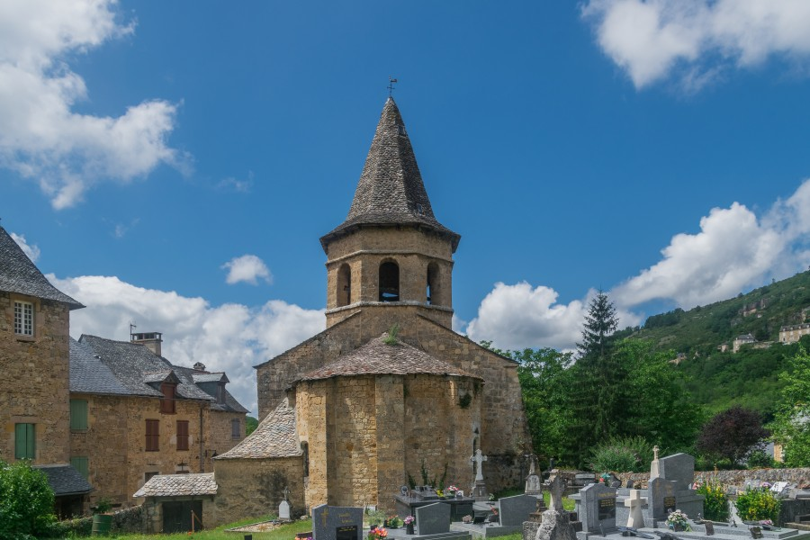 Saint Paul Church in Salles-la-Source 02