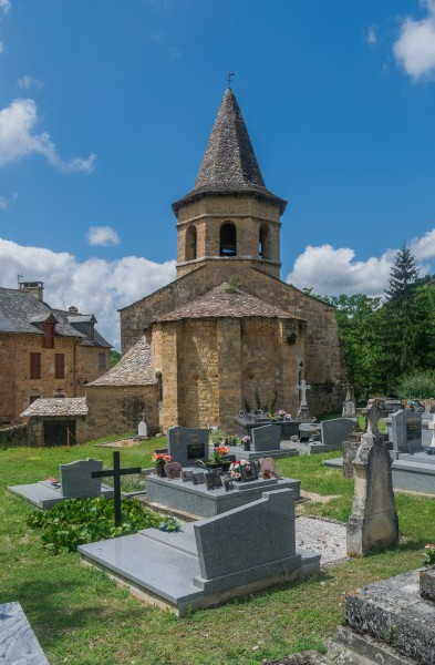 Saint Paul Church in Salles-la-Source 03