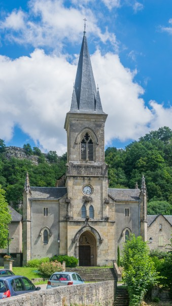 Saint Peter Parish Church of Salles-la-Source 02