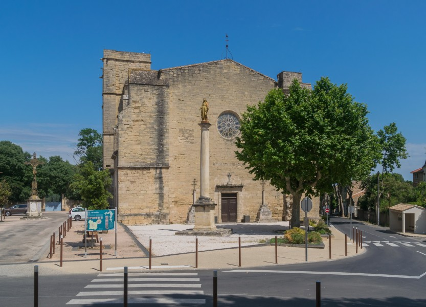 Saint Saturnin Church of Tourbes 02