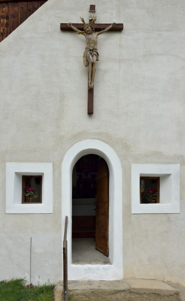 Saint Sebastian chapel in Feldthurns 2
