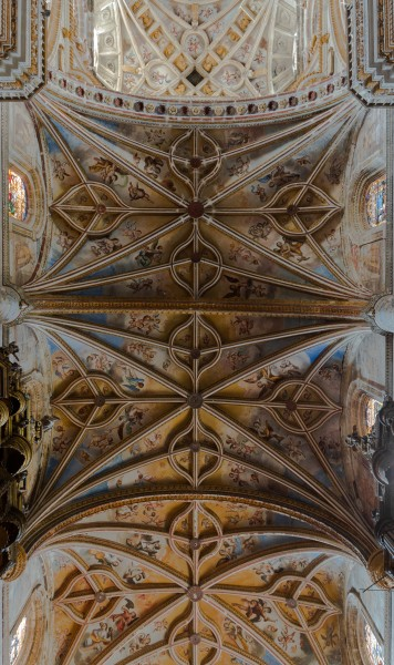 San Hieronimo church ceiling detail Granada Andalusia Spain