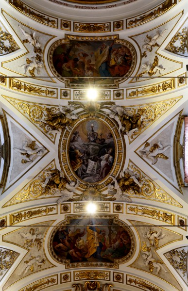 San Rufino (Assisi) - Chapel of the Holy Sacrament - Ceiling