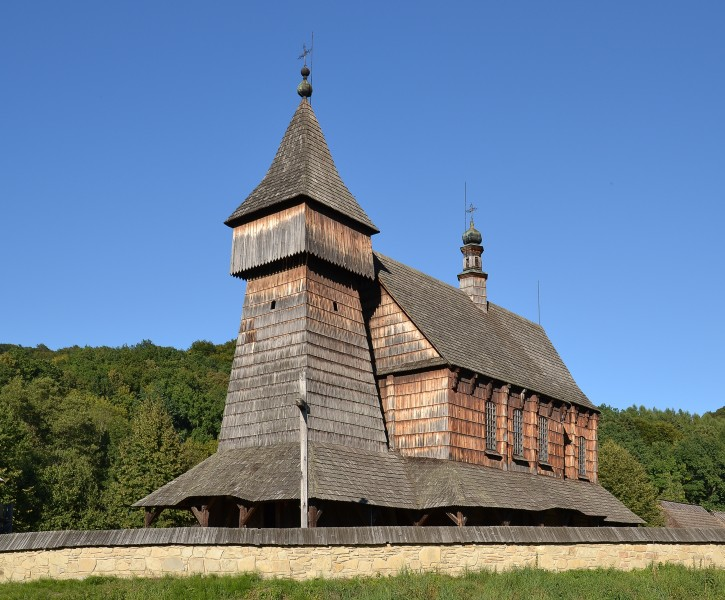 Sanok - wooden church from Bączal Dolny