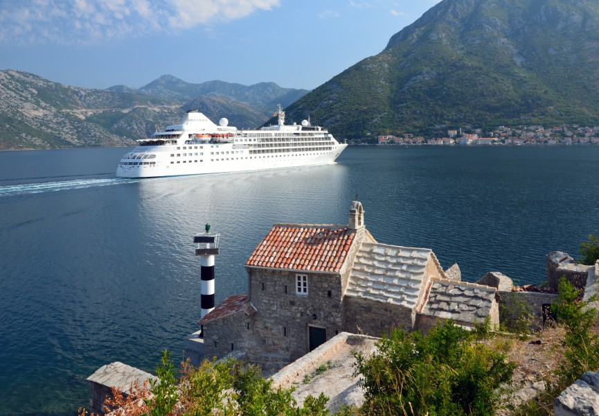 Silver Wind bay of Kotor 2