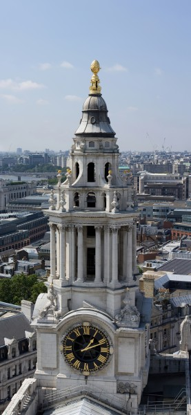 South west tower of St Paul's Cathedral