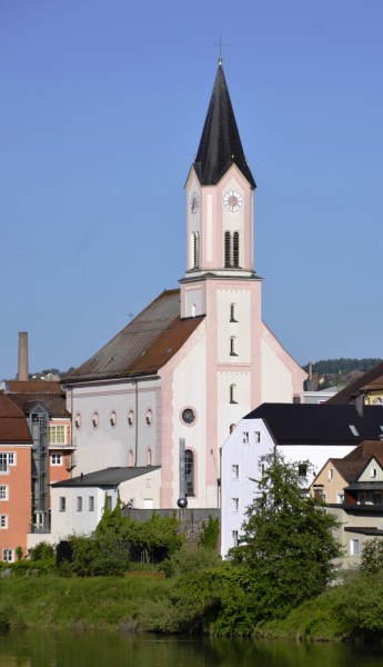 St. Gertraud in Passau, photographed 2013
