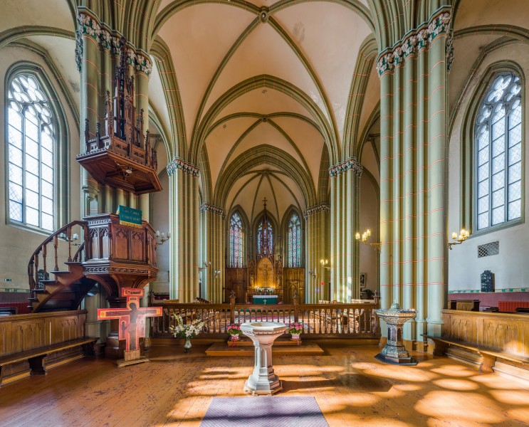 St. Gertrude Old Church Interior 2, Riga, Latvia - Diliff