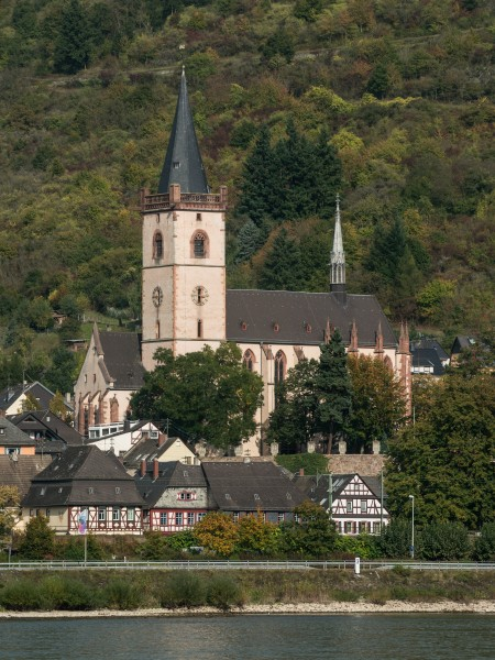 St. Martin (Lorch), Southwest view 20141002 1