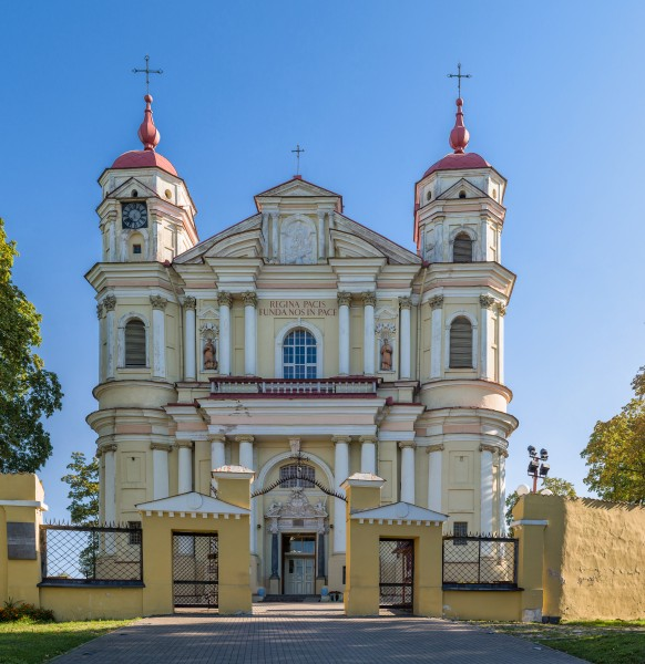 St. Peter and St. Paul's Church Exterior, Vilnius, Lithuania - Diliff