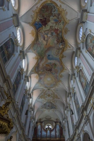 St. Peter Ceiling - Munich