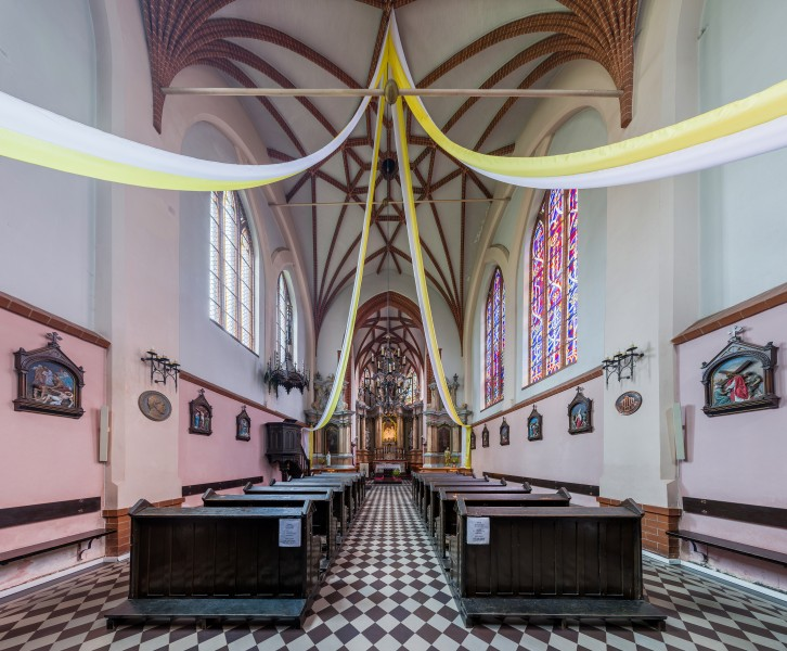 St Anne's Church Interior 2, Vilnius, Lithuania - Diliff