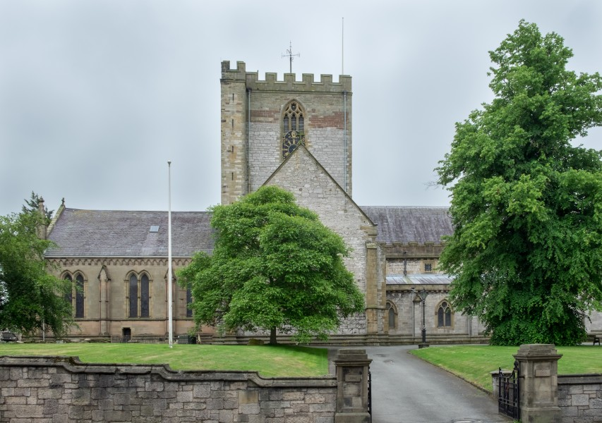 St Asaph Cathedral from the north-west