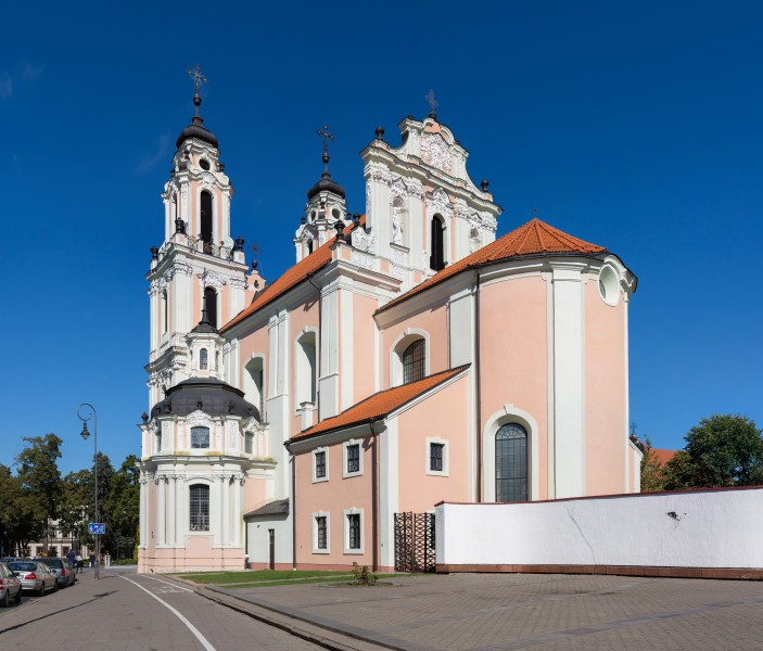 St Catherine's Church, Vilnius, Lithuania - Diliff