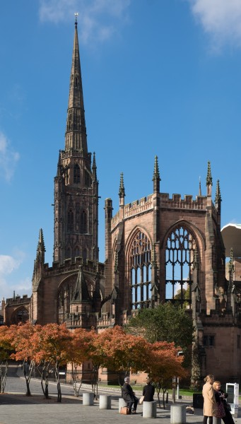St Michael's Cathedral ruins, Coventry