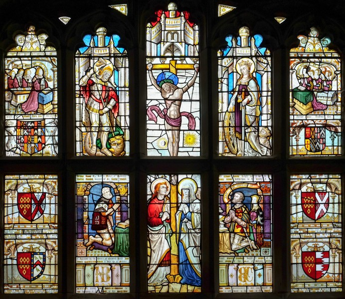 St Michael's Church, Baddesley Clinton - stained glass 2016