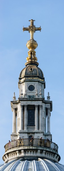 St Paul's Cathedral - Lantern and Ball and Cross