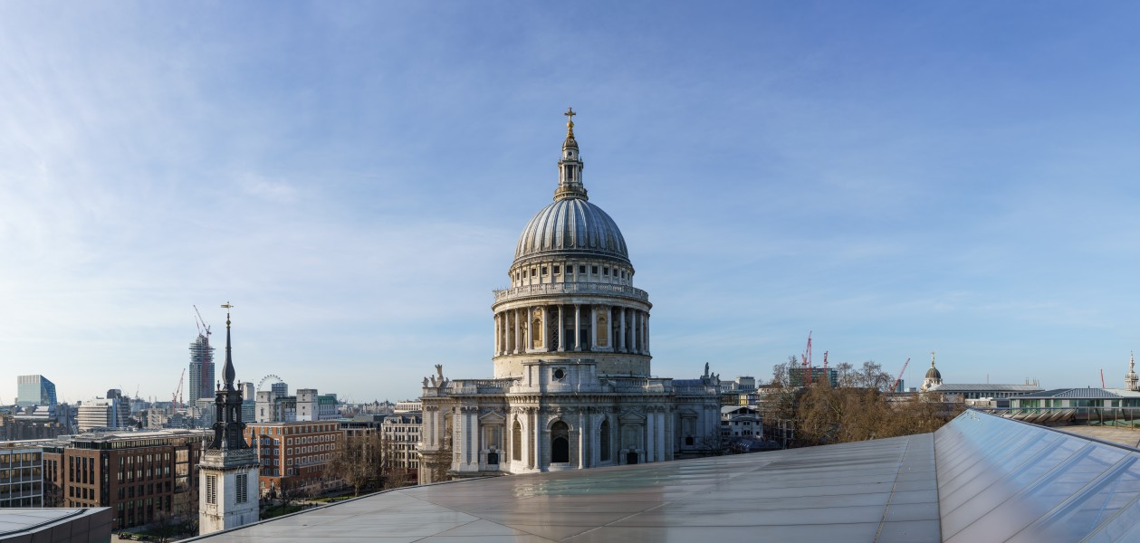 St Paul's Cathedral Dome from One New Change