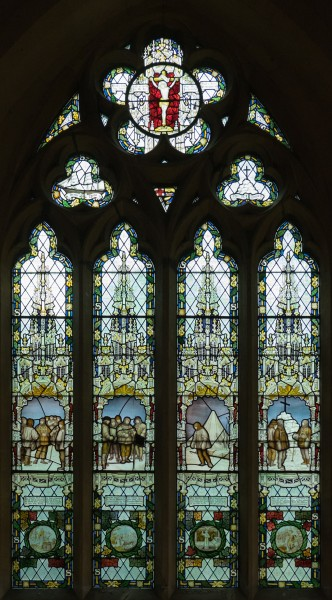St Peter's Church, Binton - The Scott Window