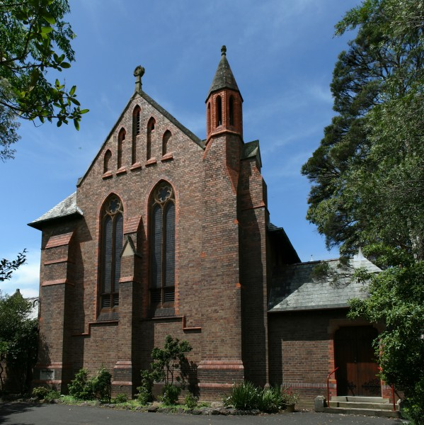 StAnnes AnglicanChurch Strathfield EndView