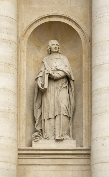 Statue Bossuet Barrias Sorbonne