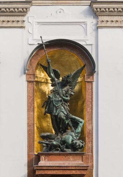 Statue Saint Michael Munich