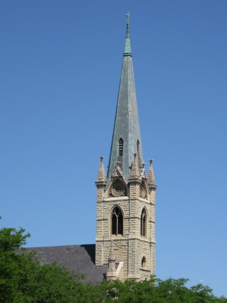 Steeple of St James Catholic Church