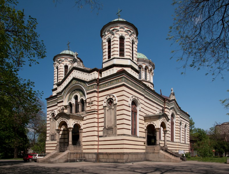 StNikolaySofiyski church Sofia
