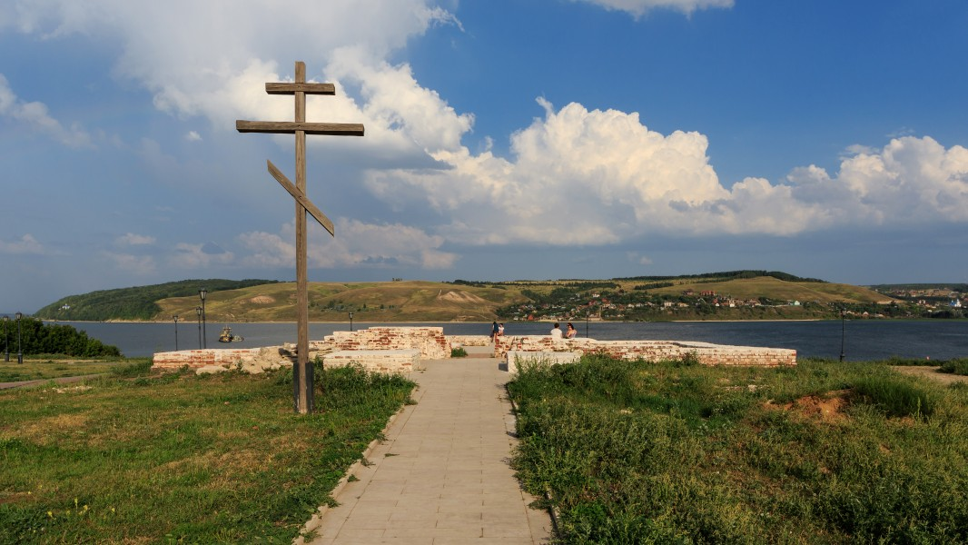 Sviyazhsk Annunciation Church site 08-2016