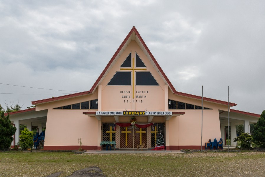 Telupid Sabah St-Martins-Catholic-Church-01