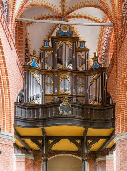 Teterow St. Peter und Paul Orgel