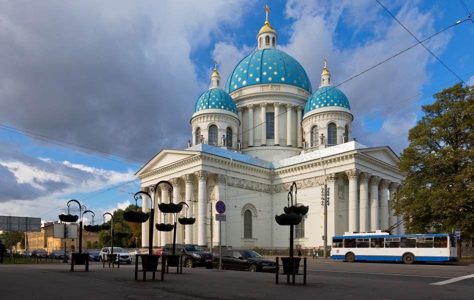 The Trinity Cathedral in Saint Petersburg (1)