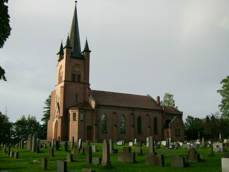 Tingelstad new church, Gran